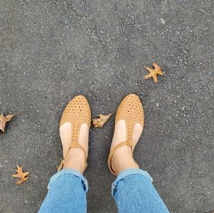 Urban Outfitters tan flats